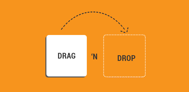 Angular Drag & Drop Functionality