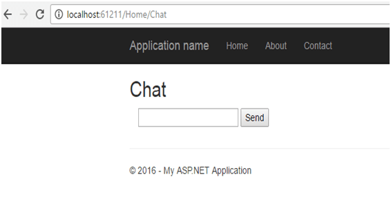 ASP.net Signalr for Real Time Applications Method