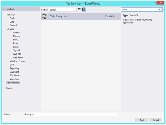 ASP Net Signalr for Real Time Apps
