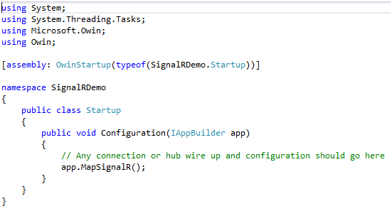 ASP.Net Signalr for Real Time Application