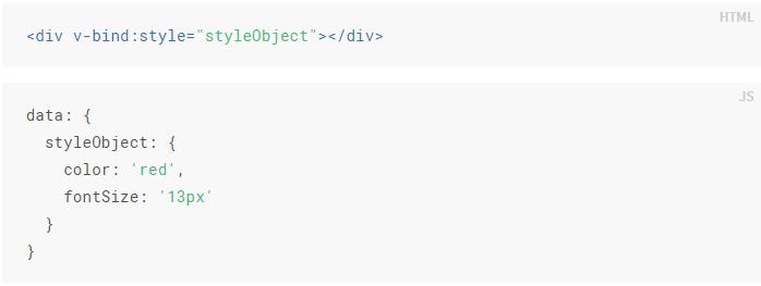 data-binding css