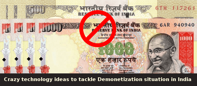 Demonetization Situation in India