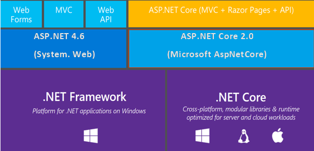 .NET Core vs .NET Framework for custom software development
