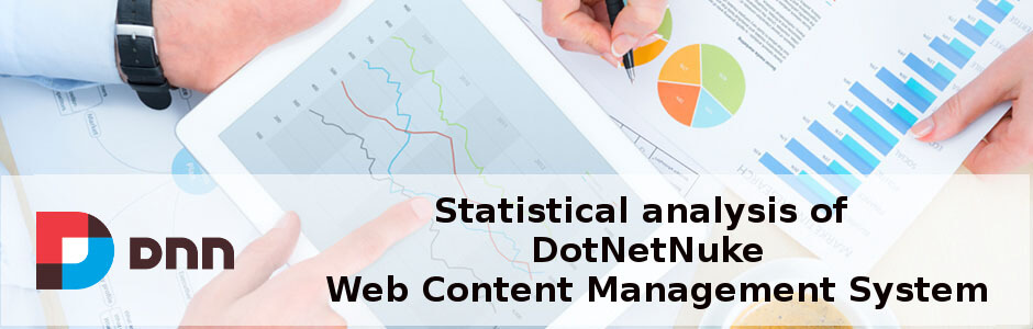 Statistical analysis of DotNetNuke, Web Content Management System
