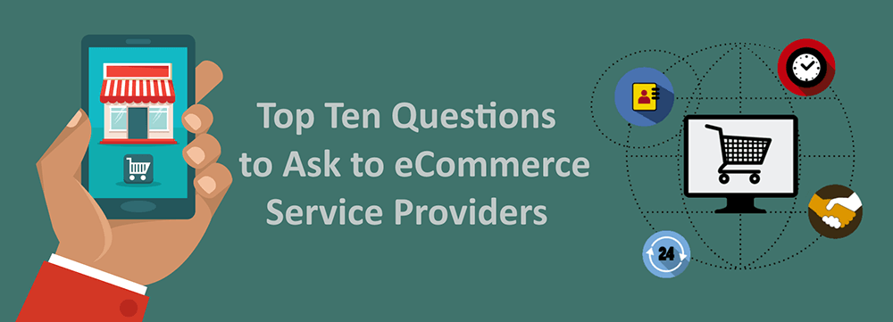 Questions for eCommerce Services