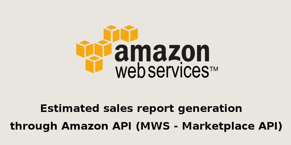 Amazon Marketplace Web Service
