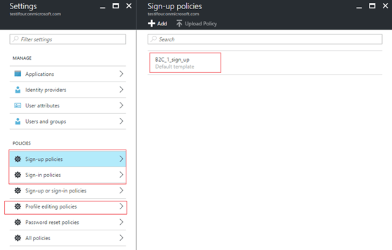 Integration of Azure Ad B2C with .Net Web Apps