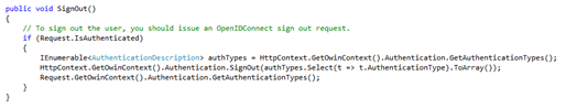 Azure Ad B2C with ASP.Net Web App Integration