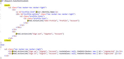Integration of Azure ad B2C with Dotnet Web App