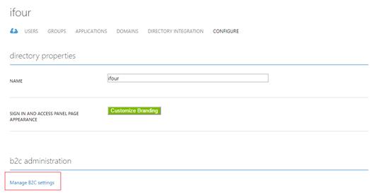 Integration of Azure ad B2C with ASP Dotnet Web App