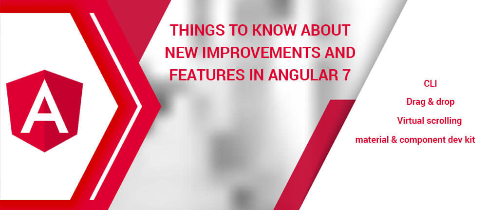 New Features in Angular 7