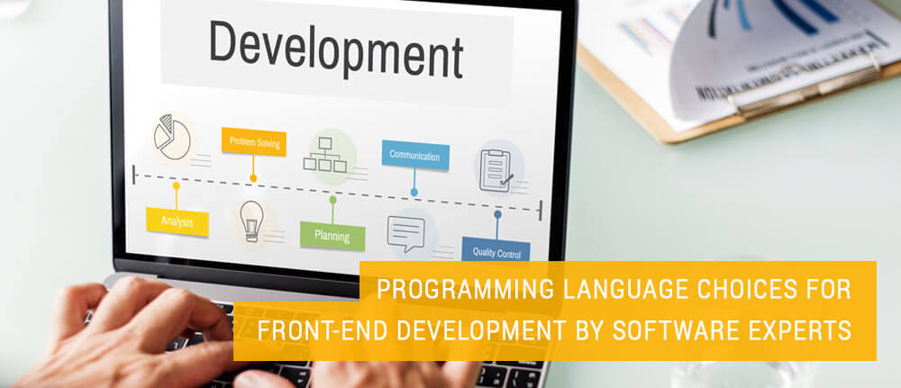 PROGRAMMING LANGUAGE CHOICES FOR FRONT-END DEVELOPMENT BY SOFTWARE EXPERTS