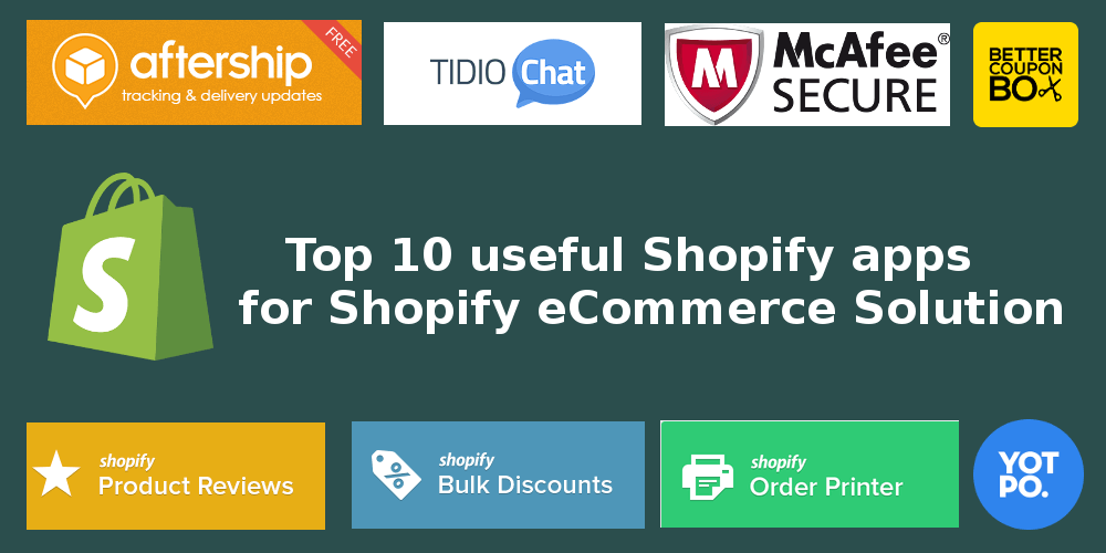 Useful Shopify Apps for eCommerce Solution