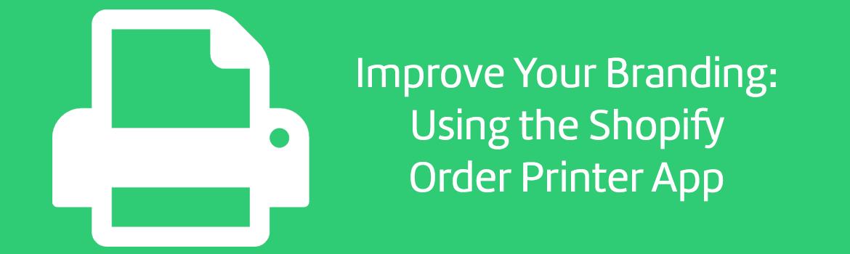 Order Printer Shopify app