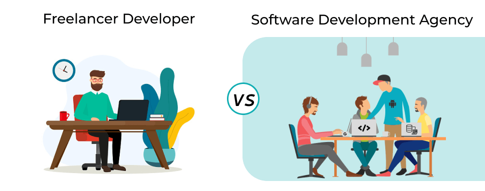 why-should-hire-a-software-development-agency-over-freelancer-developer